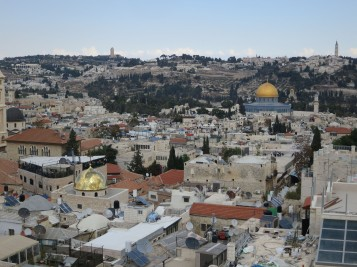 Rooftop view Old City-Jerusalem