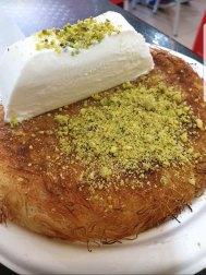 Best knafeh ever in Daliyat el-Carmel!