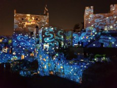 Fab sound and light show at Tower of David in Jerusalem