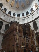 The Edicule at the Church of the Holy Sepulchre