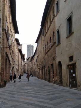 Renaissance towers in San Gimignano, Tuscany